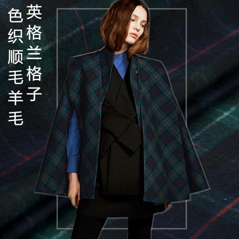 Royal Scottish font b tartan b font plaid wool fabric thin woolen autumn and winter fashion