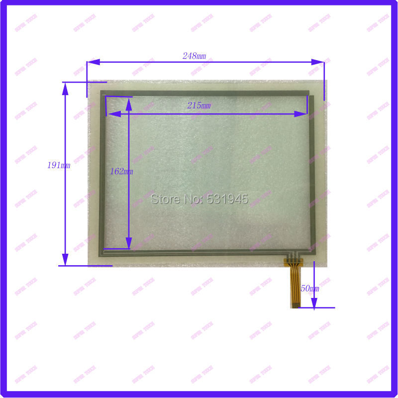 POST 12.1 inch 248*191 resistive Touch Panel TOUCH SYSTEMS Resistance Touch screen 248mm*191mm 4inch chage 8inch