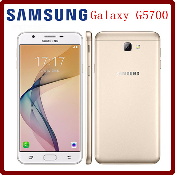 Original Samsung Galaxy On5 G5700 Dual SIM 50 Inch 3GB RAM 32GB ROM LTE 4G 130MP Camera Octa Core Android 60 Mobile Phone In Phones From