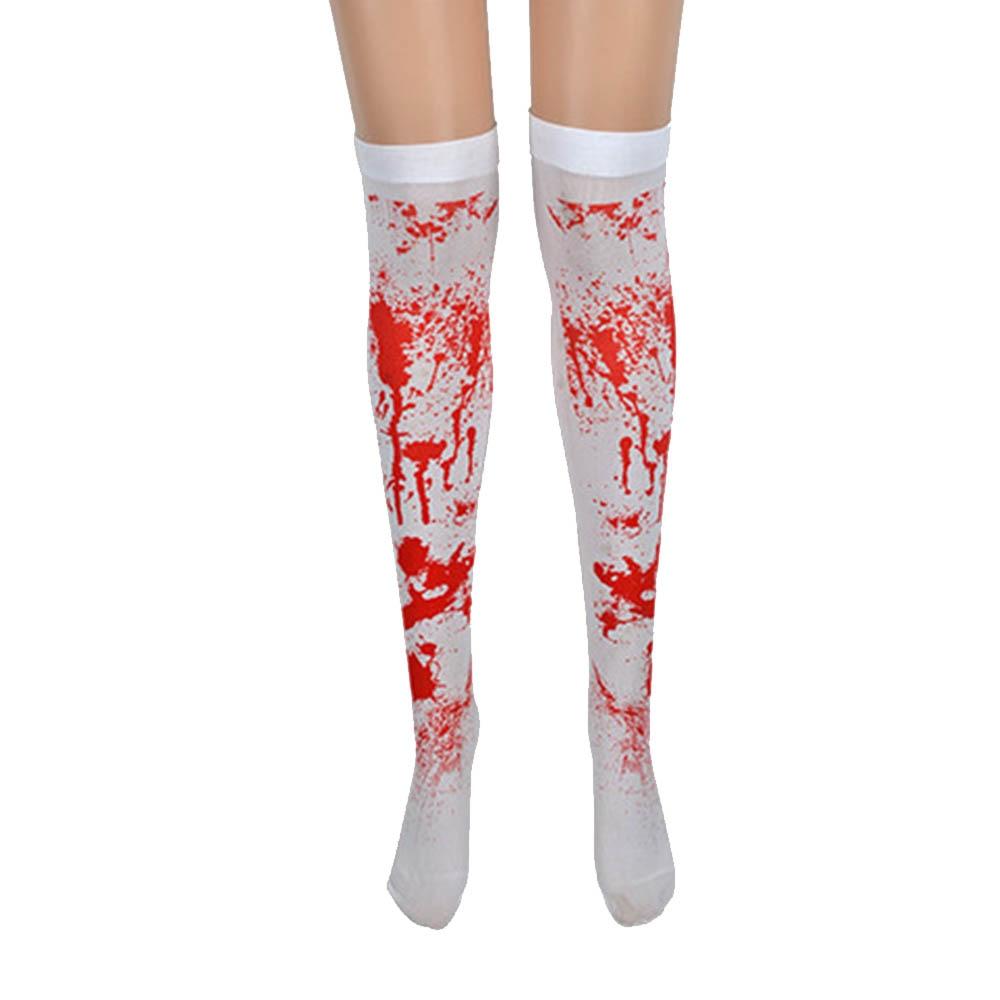 Fashion Women Dress Socks Stockings Halloween Gothic Scary