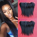 Straight 7A Brazilian Human hair Lace Frontal Closure With Baby Hair 13X2 Virgin Human Hair Lace Frontal Closure Free Shipping