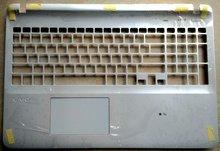 Новый для sony vaio fit svf152 svf152c26l svf15218cxw svf15215cdw английский сша клавиатура для ноутбука верхней случае с крышкой белый сенсорная панель