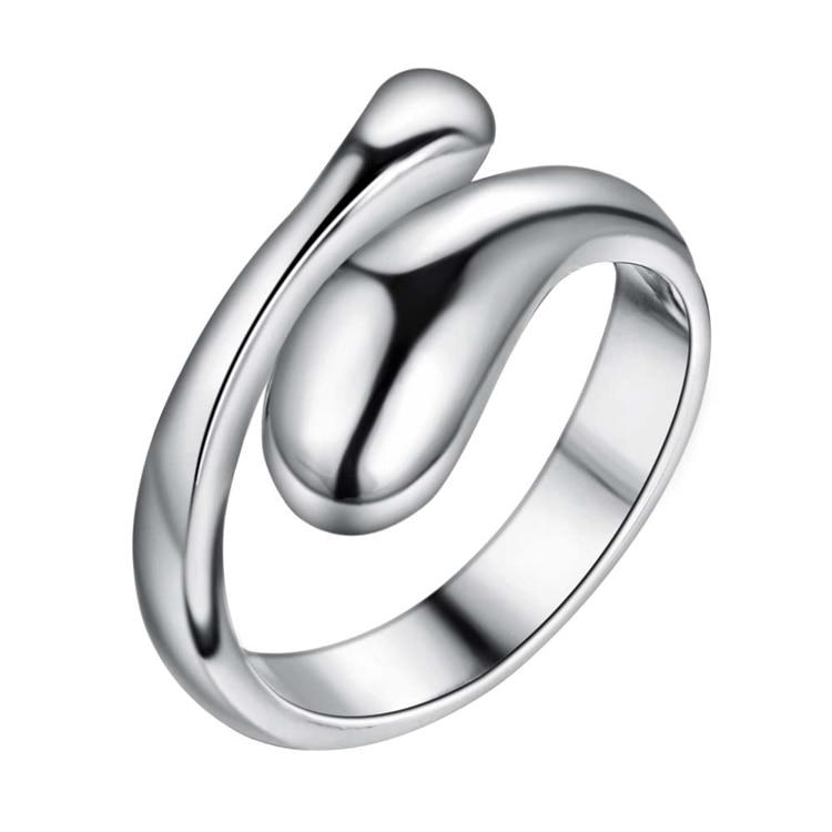 Schmuck & Zubehör Modeschmuck Ringe Neue Heiße Silber Hochzeitsgeschenke Großhandel Ringe War227 Verlobungsringe