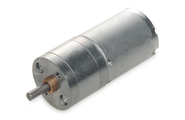 6V 12V 24V 130rpm DC Gear motor 25GA370 370 free shipping