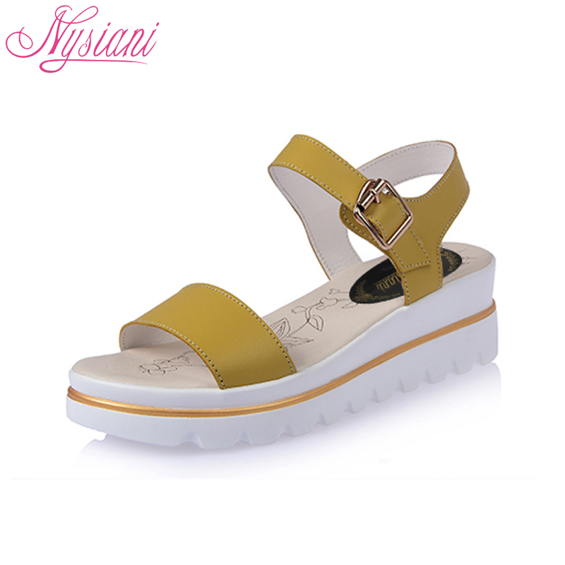 comforter shoes s bow sweet and wedge open supermall women sandals zhuo casual toe sri black comfortable
