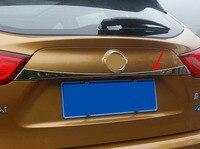 1pc for Nissan qashqai 2016 Tailgate decorative strip Trim strip sticker
