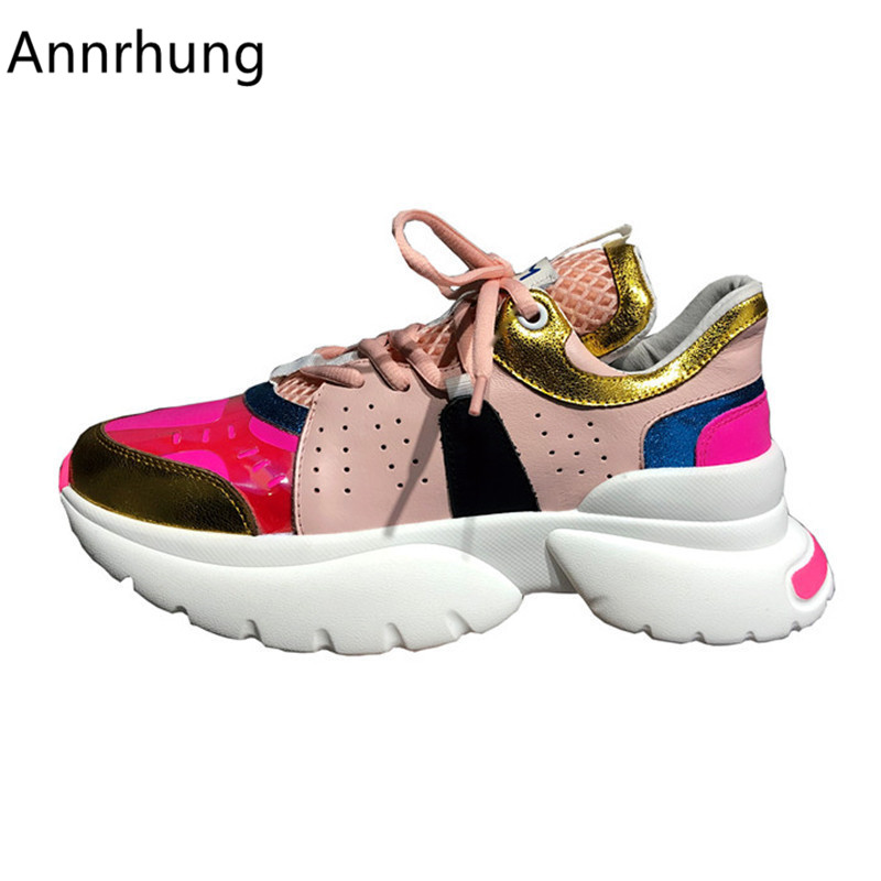 New Arrival Mixed Color Casual Shoes Women Flat Platform Genuine Leather Lace-up Sneakers Outdoor Running Shoes WomenNew Arrival Mixed Color Casual Shoes Women Flat Platform Genuine Leather Lace-up Sneakers Outdoor Running Shoes Women