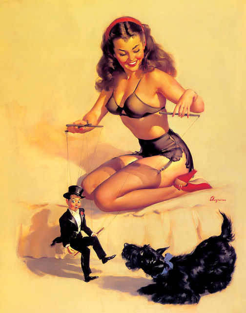 sexy vintage posters