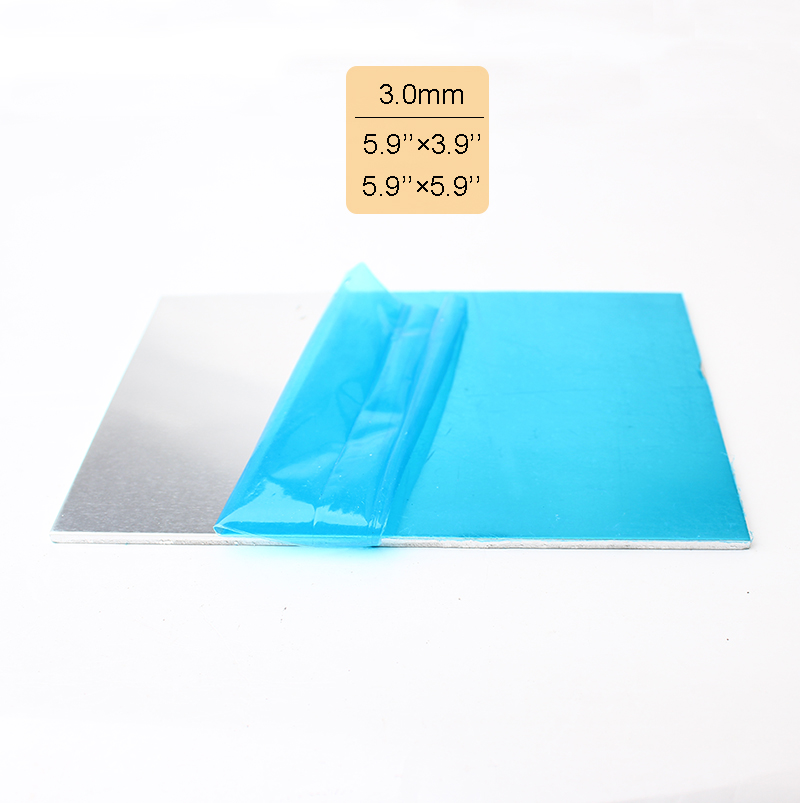 Thickness 30mm 8 gauge silver pure aluminum sheet plate 150mm100mm thickness 30mm 8 gauge silver pure aluminum sheet plate 150mm100mm 150mm150mm craft jewelry supplies blue protective film in jewelry findings greentooth Images