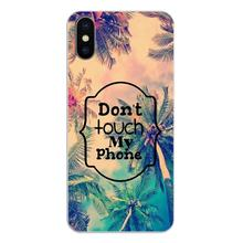 lock screen dont touch my Phone Art Poster Silicone Phone Shell Cover For Nokia 2 3 5 6 8 9 230 3310 2.1 3.1 5.1 7 Plus(China)