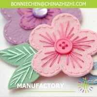 Hot Sell Handmade Girl Hair Accessories Felt Clip Made In China