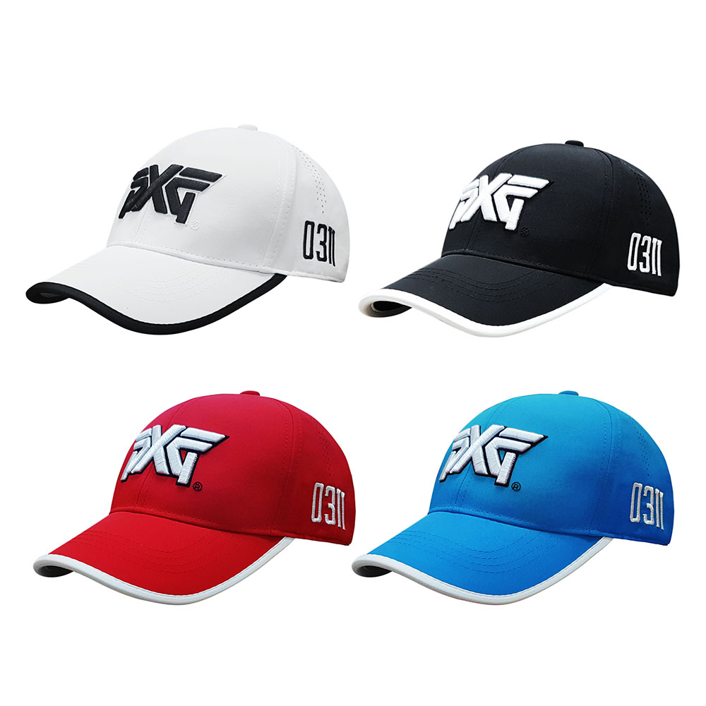 Golf hat PXG cap Professional hat cotton golf ball cap outdoor sports golf hat breathable sports cap free shipping trendy cotton fedora hat cap black