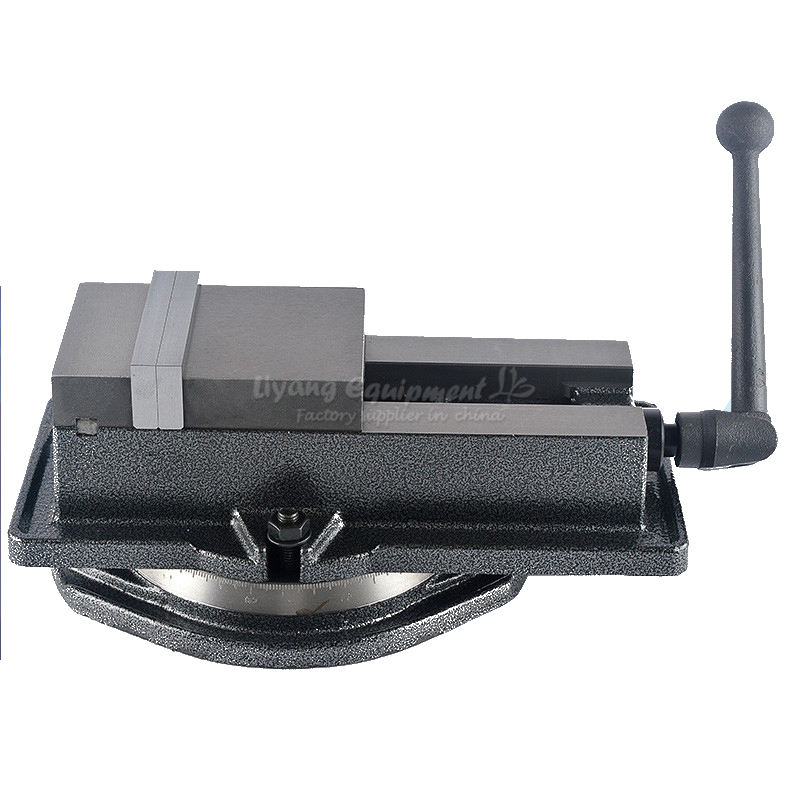 Precision machine vise CNC heavy 4/ 5/ 6 / 8 inches angle fixed clamp for milling machine flat tongs