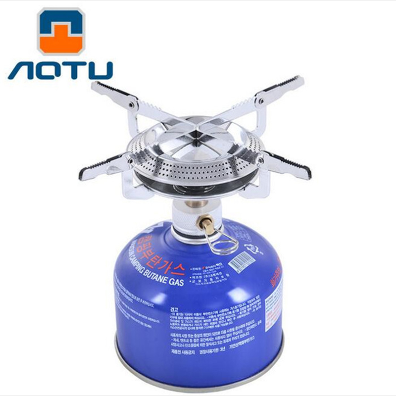 0.25Kg Outdoor Ultralight Mountain Hiking Camping Grill Stove Portable Gas Stove One-Piece Gas Burner Stainless and Copper Tube