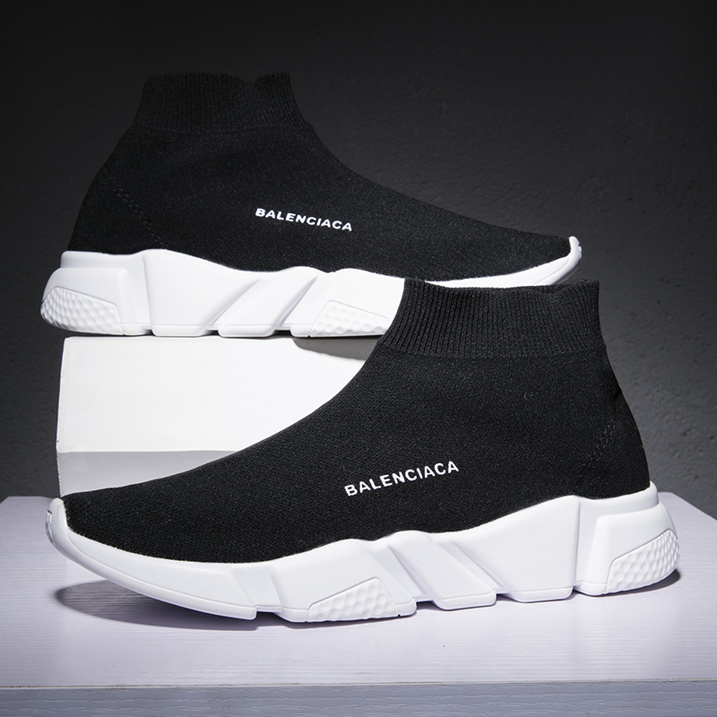 Nueva 36 Casual Moda Black orange Gran gray Masculina Transpirable Zapatos Tamaño De Casuales Para 2018 Hombres 46 qx7AtU7