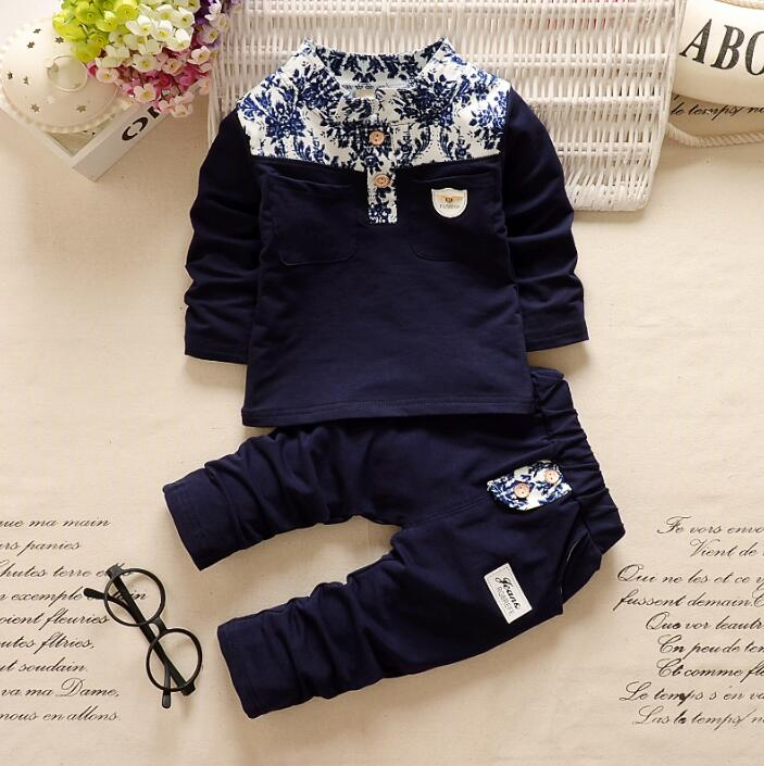 New style children clothing set 2017 baby boys tracksuit fashion clothes set boys sport suit kids set boys outfits suit