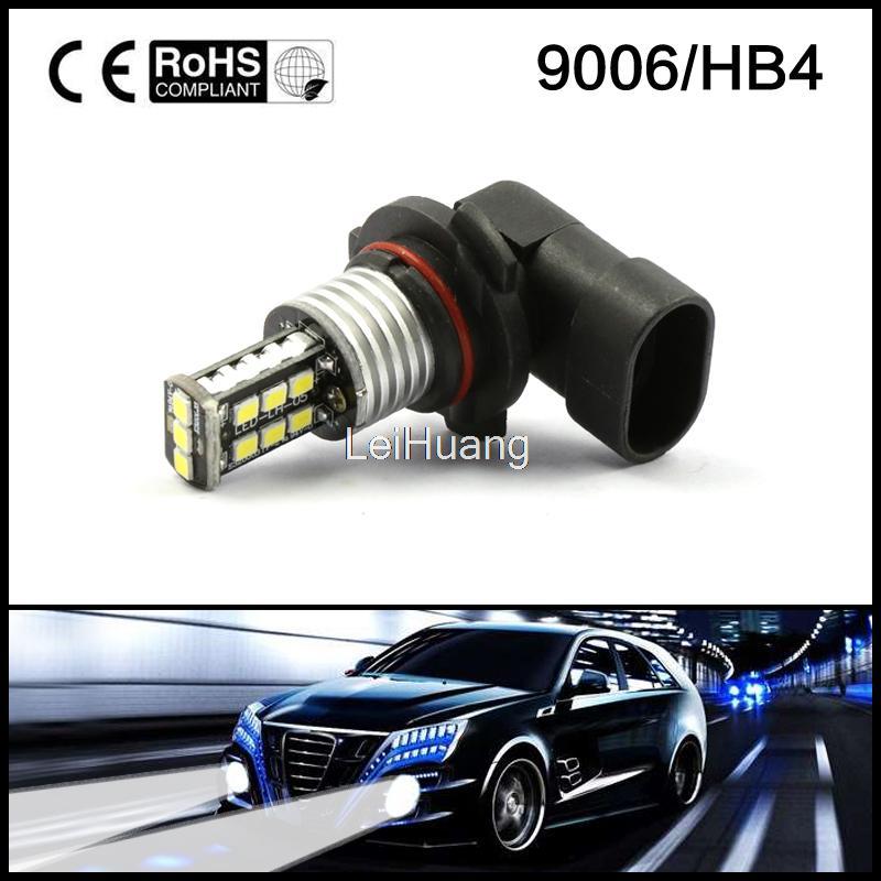 White 9006 HB4 9012 High Power 15W LED Car Fog Driving Daytime Running Lamp