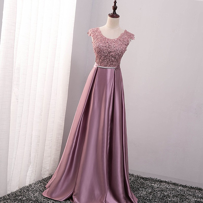 e378ca3883 Popodion Long style sister bridesmaid dresses dress for wedding ...