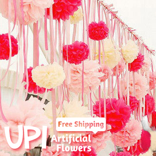 Wholesale 200pcs 4inch Free Shipping Tissue Paper Flowers Ball Wedding Birthday Party Home Decor Handmade Craft Pom Poms