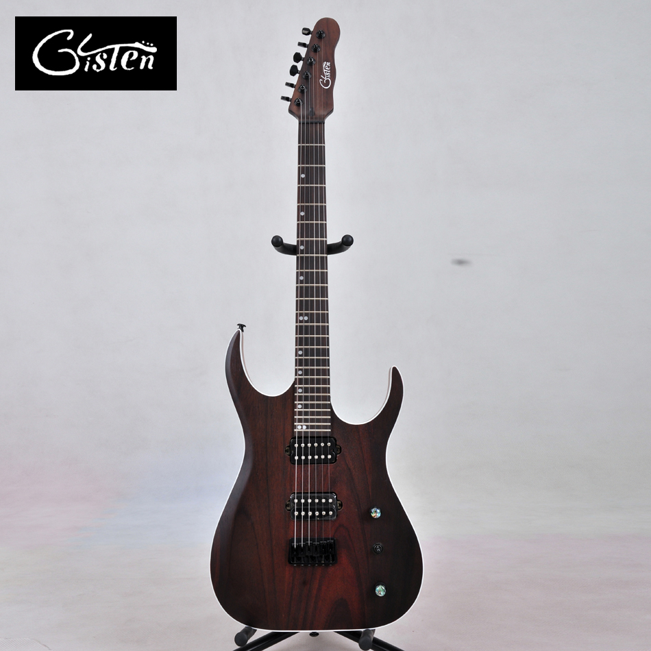 Gisten2017 new style high quality custom rosewood electric guitar, electric guitar, free shipping, gisten 001 high quality custom electric guitar inlay color shell for free shipping