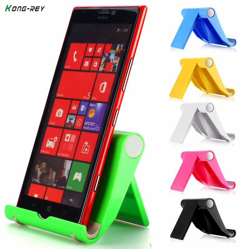 KONG-REY Mobile Phone Holder For iphone Xiaomi Flexible Dest Phone Stand Universal Desk Holder For Huawei Samsung ipad Tablet PC