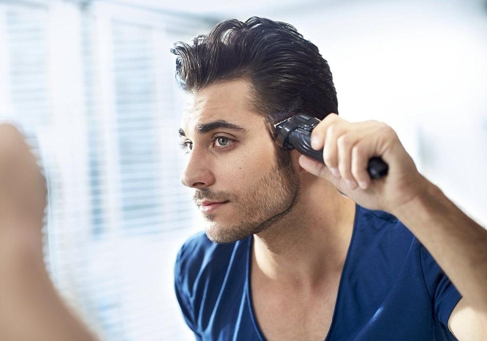 6in1 grooming kit hair trimmer beard trimer hair clipper for men facial shaver body shaving electric hair cutter cutting machine 2