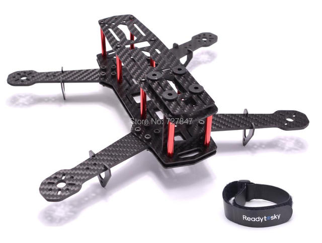 ZMR250 H250 250 Carbon Fiber / PDB 250 250mm Mini Quadcopter Frame ...