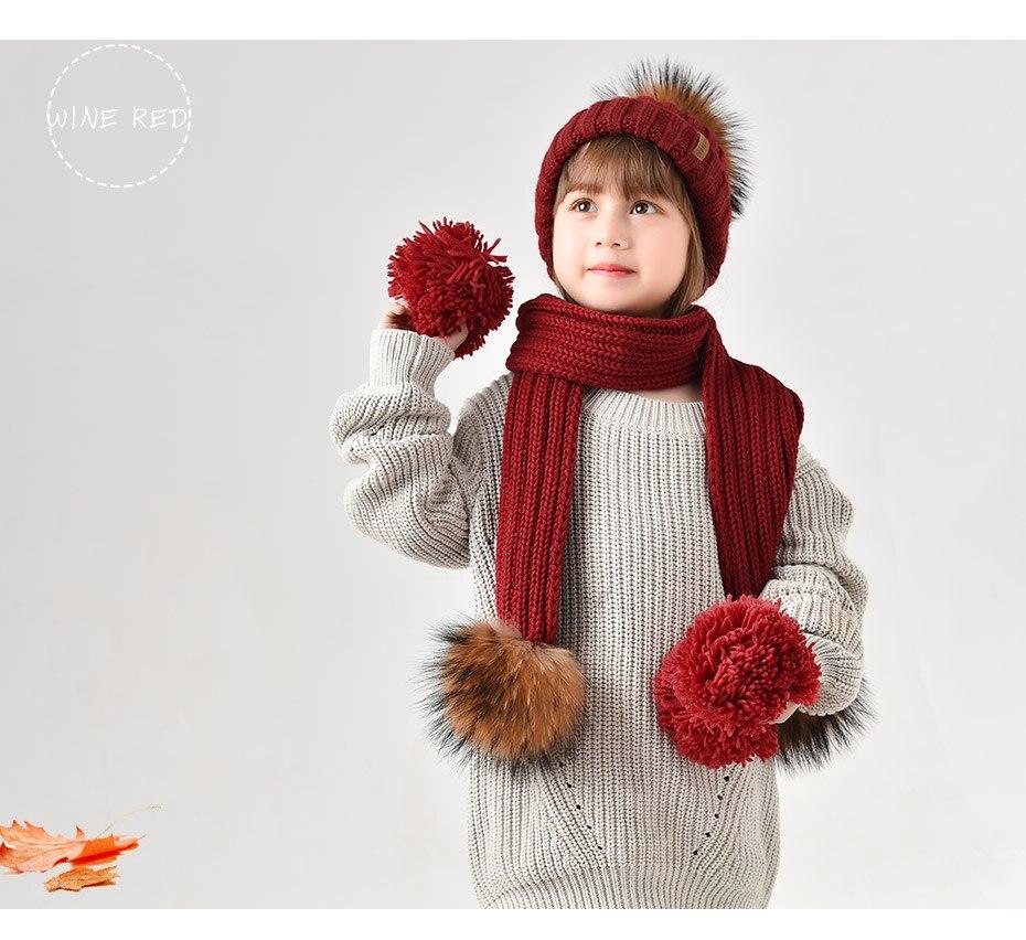 71c2ca7098bf5 2019 FURTALK Kids Ages 2 10 Winter Warm Chunky Thick Knit Beanie ...