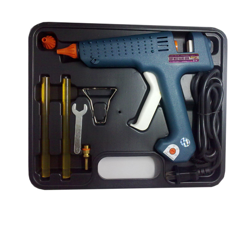цена на TOOL BAG:EU Plug 150 watt Temperature adjustment Hot Melt Glue Gun, 1 pcs/lot, free shipping