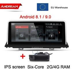 10,25 Android 8.1/9,0 6 Core Auto Multimedia für BMW X5 E70 X6 E71 2007 2008 2009 2010 2011 2012 2013 GPS Navigation