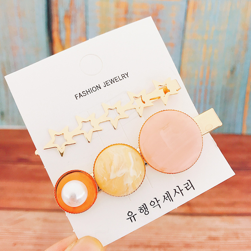 2Pcs Set Hair Clips Women Metal Pearl Hairclip Beads Barrettes Hairdressing Tool Metal Snap Hair Clips Retro Full Hairclips in Women 39 s Hair Accessories from Apparel Accessories