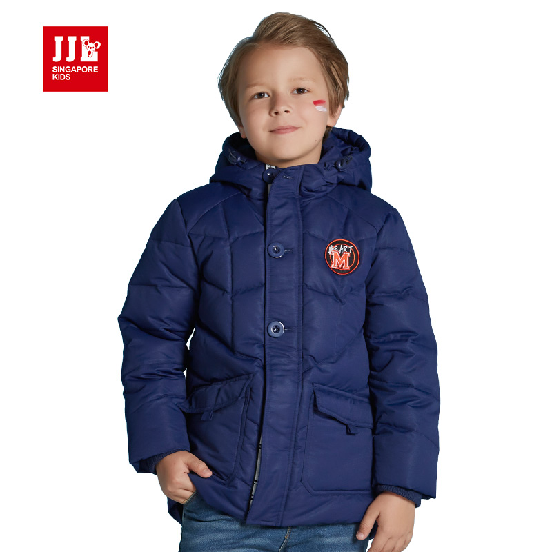 winter boys jackets boy down parka kids coats outwear 80% white duck warm 2016 children