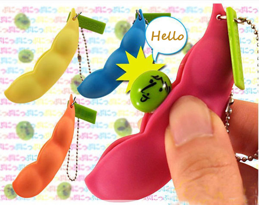 Funny-Beans-Squeeze-Toys-Pendants-Anti-Stressball-Squeeze-Gadgets-finger-Toys-Kids-Gift-XT-3