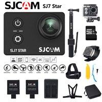 SJCAM SJ7 звезда действий Камера Wi Fi 4 К 30fps Спорт Мини Камера Сенсорный экран 30 м Водонепроницаемый для дайвинга велосипед Extreme спортивные Камер
