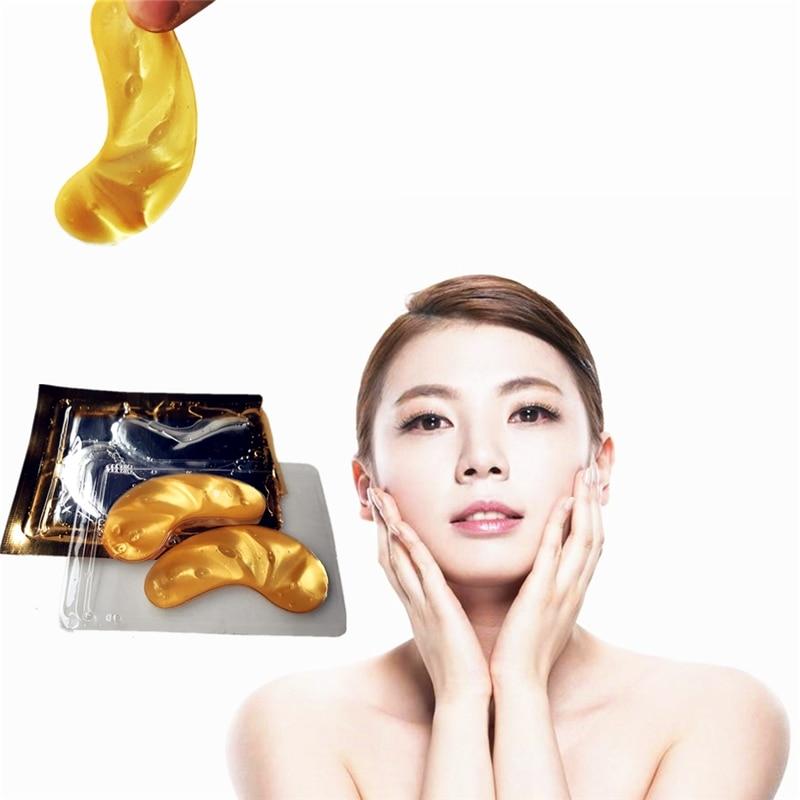 LOVE THANKS Cheap 24K Gold Eye Mask Collagen Eye Patches Dark Circle Puffiness Bag