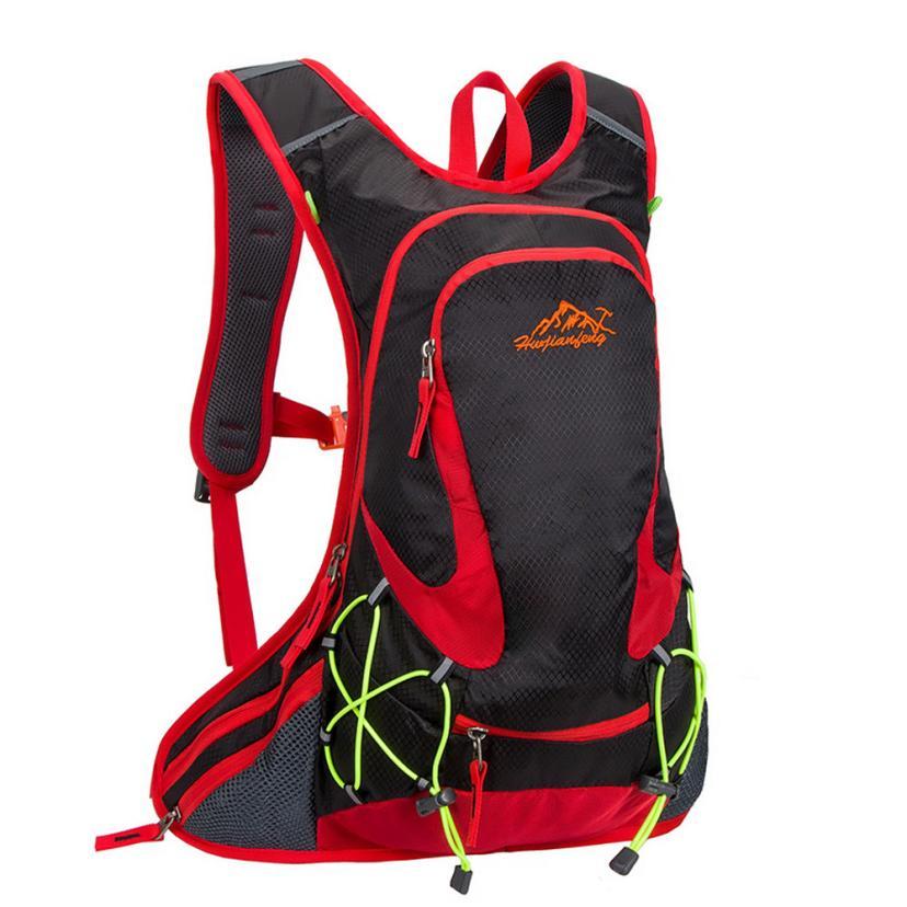 Cómodo Paquete de Deportes Al Aire Libre A Prueba de agua Camping Ciclismo Marc0
