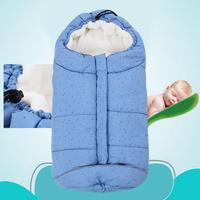 Baby stroller sleeping bags envelope for newborn winter wrap sleep sacks Baby blanket swaddling prams bed swaddle bedding s3
