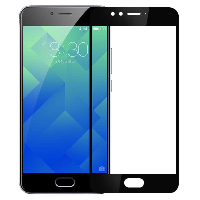 Glass for Screen-Protector M612H Full-Cover Meizu M5s Protective-Guard-Film 9H Meilan