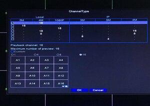 Image 5 - جهاز كشف الوجه XMeye Hi3531D H265 + 5MP 16CH 16 قناة 6 في 1 هجين واي فاي TVi CVI NVR AHD CCTV DVR جهاز تسجيل فيديو للمراقبة