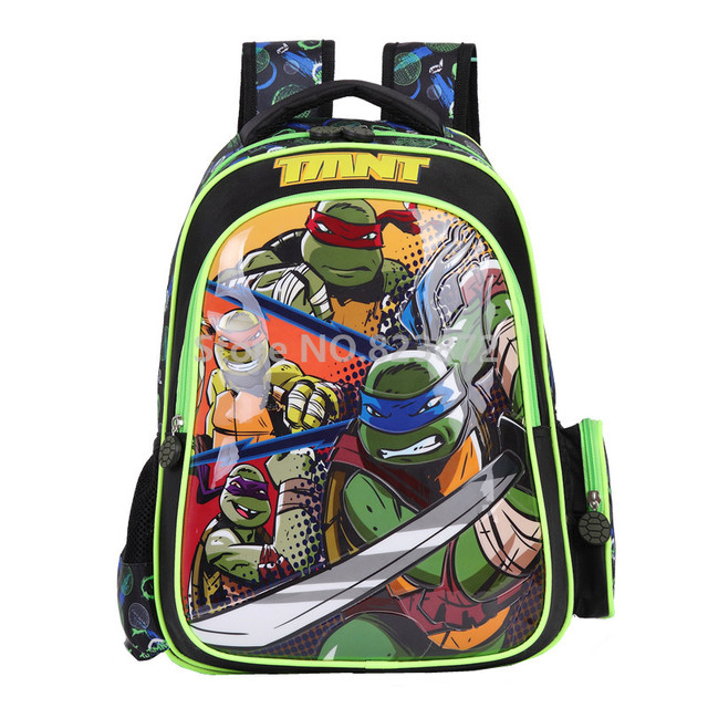 teenage mutant ninja turtles sac dos enfants sacs dcole pour les garons de - Cartable Tortue Ninja