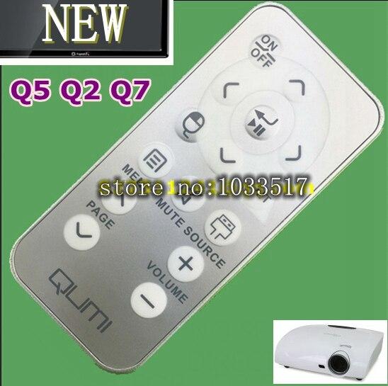 Original Projector remote control QRC1VVK for Vivitek projector Q5 Q2 Q7 series QUMI parts vivitek h1185 кинотеатральный проектор white page 7
