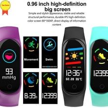 Bluetooth Smart Band banda inteligente Bracelet Blood Oxygen Pressure Heart Rate Monitor sport Wristband reloj