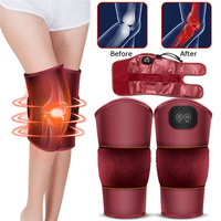 Electric Heating Back Knee Massage Physiotherapy Legs Arm Waist Pain Relief Vibration Muscle Stimulator Warm Pads Health Care