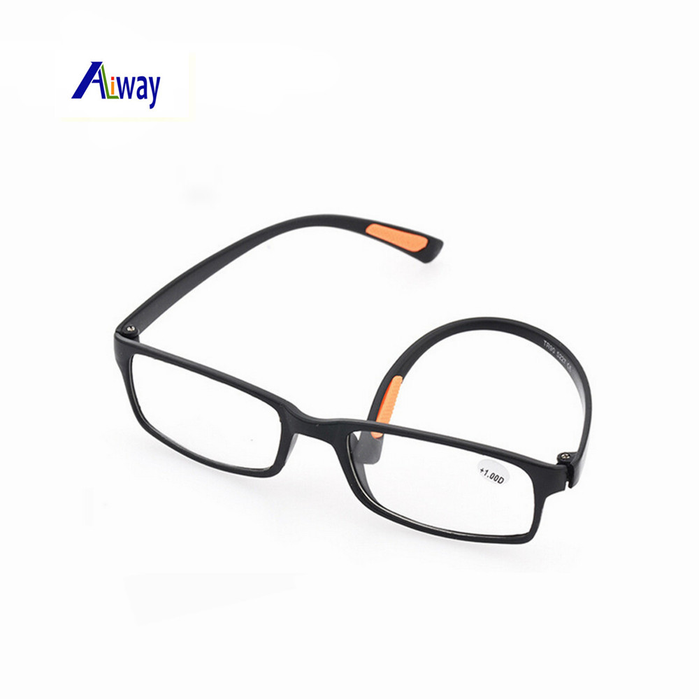efce180ead3cb Aliway New fashion tr90 TR Light Comfy Stretch unisex reading glasses man  woman presbyopic oculos de leitura free shipping-in Reading Glasses from  Apparel ...