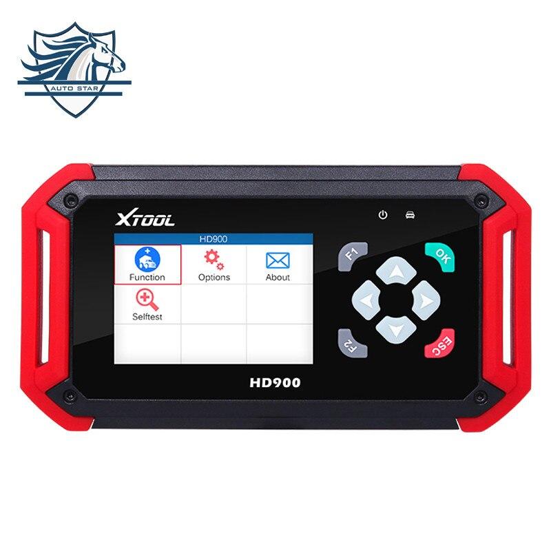 High Quality XTOOL HD900 Eobd2 OBD2 CAN BUS Auto Heavy Duty Diagnostic Scanner Code Reader XTOOL HD900 Code Reader Fast Shipping  цены