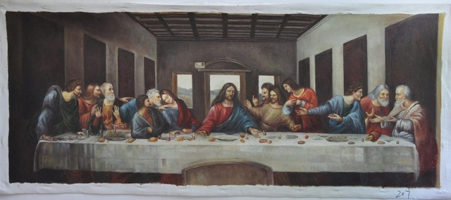 Copy The Last Supper Paintings Hand Painted Modern Home Decor Wall Art  Picture Canvas Oil Paintings Modern Art Painting Part 65