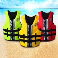 Life Vest Neoprene Floating Fishing Rafting Surfing scuba diving Vest Swimwear Life Jacket Floating Vest Watersports