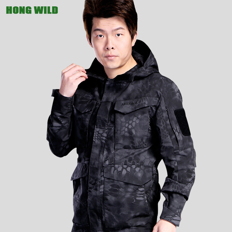 Tactical Winter Flight Pilot Coat M65 Uk Us Men Autumn Army Clothes Hooded Military Field Windbreaker Jacket Sports & Entertainment