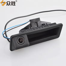 hot deal buy car rear view camera for bmw x5 x1 x6 e39 e46 e53 e82 e88 e84 e90 e91 e92 e93 e60 e61 e70 e71 e72 trunk handle parking camera