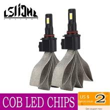 LSlight LED فار أمبولة H7 H4 H1 H3 H11 H13 9004 9005 9006 9007 H27 HB2 HB3 HB4 LED 5000lm سيارة المصابيح الأمامية 72W 6000K 12V